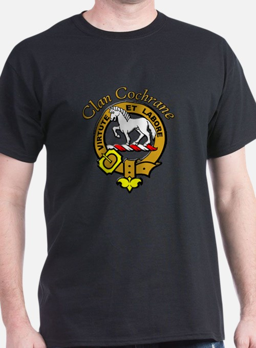 Light Bold Crest and Motto T-Shirt