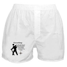 Geocaching: To take advantage Boxer Shorts
