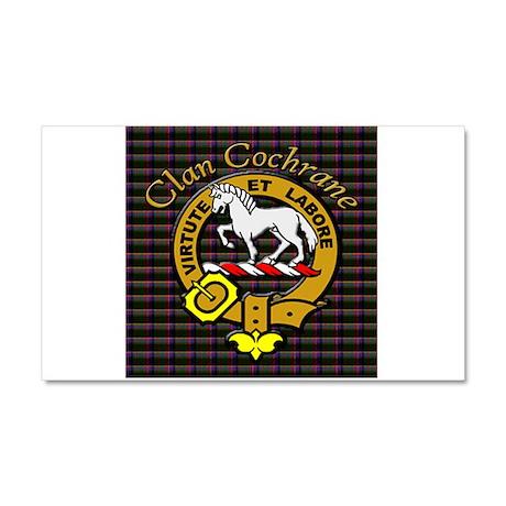 Tartan & Crest Car Magnet 20 x 12
