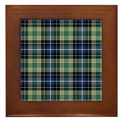 Tartan - MacKellar Framed Tile