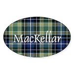 Tartan - MacKellar Sticker (Oval)