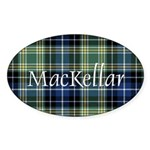 Tartan - MacKellar Sticker (Oval 10 pk)