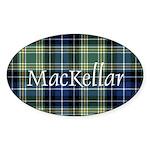 Tartan - MacKellar Sticker (Oval 50 pk)