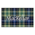 Tartan - MacKellar Sticker (Rectangle)