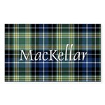 Tartan - MacKellar Sticker (Rectangle 50 pk)