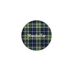 Tartan - MacKellar Mini Button (100 pack)