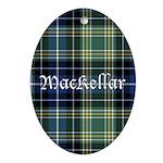 Tartan - MacKellar Ornament (Oval)