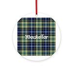 Tartan - MacKellar Ornament (Round)