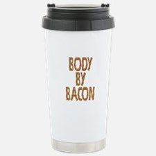 Body By Bacon Stainless Steel Travel Mug