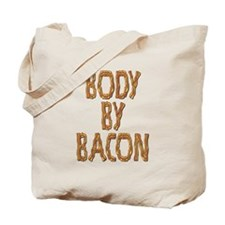 Body By Bacon Tote Bag