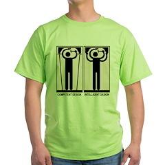 Intelligent Design Green T-Shirt