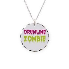Drumline Zombie Necklace Circle Charm