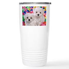 BICHON FRISE BALL PIT Travel Mug