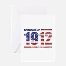 1912 Made In America Greeting Card
