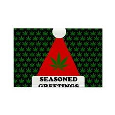 Seasoned Greetings Rectangle Magnet