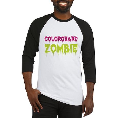 Colorguard Zombie Baseball Jersey