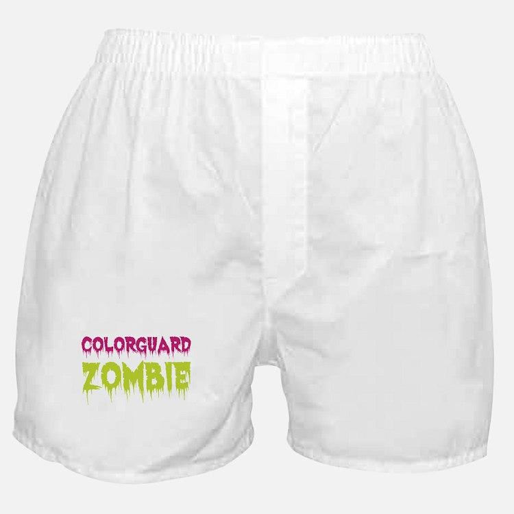 Colorguard Zombie Boxer Shorts