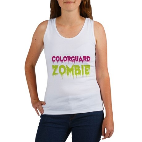 Colorguard Zombie Women's Tank Top