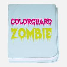 Colorguard Zombie baby blanket
