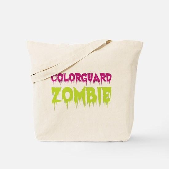 Colorguard Zombie Tote Bag