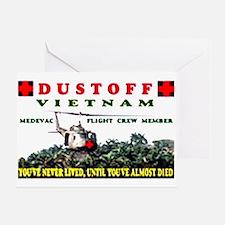 dustoff Greeting Card