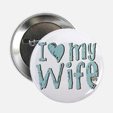 """I heart my Wife 2.25"""" Button"""