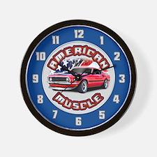 American Muscle - Mustang Wall Clock