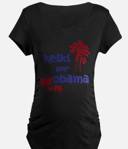Keiki for Obama (2-color) T-Shirt