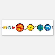 Pluto Who? Bumper Bumper Sticker