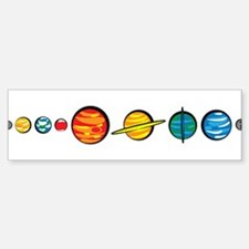 Pluto Who? Bumper Bumper Sticker
