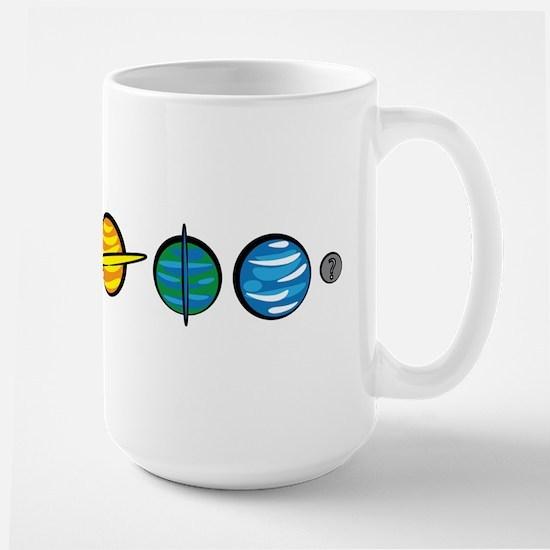 Pluto Who? Large Mug