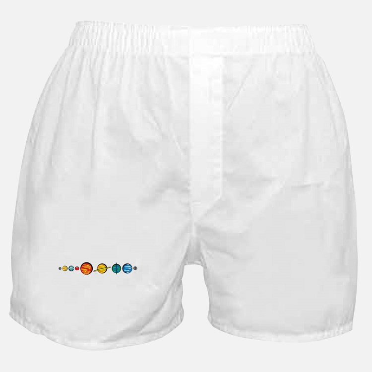 Pluto Who? Boxer Shorts