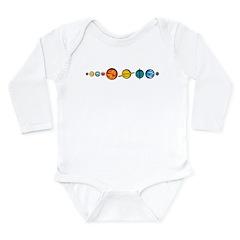 Pluto Who? Long Sleeve Infant Bodysuit