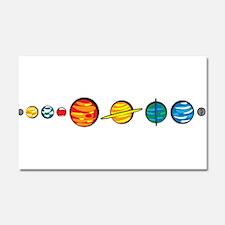 Pluto Who? Car Magnet 20 x 12