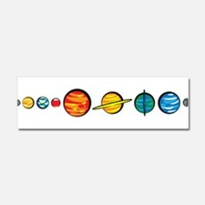 Pluto Who? Car Magnet 10 x 3