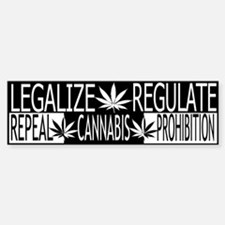 LREM BUmper sticker show your support medical pot