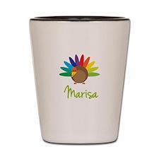 Marisa the Turkey Shot Glass