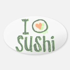 I Heart Sushi Decal