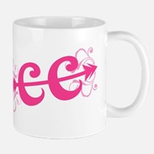 Pink CC Cross Country Mug