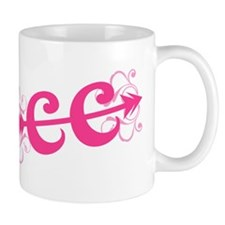 Pink CC Cross Country Mug