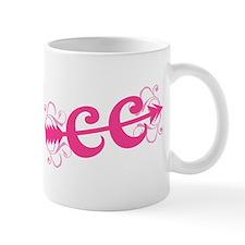 Pink CC Cross Country Small Mugs