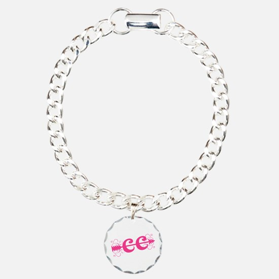 Pink CC Cross Country Bracelet