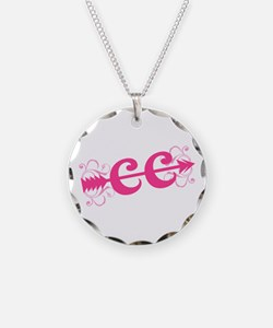 Pink CC Cross Country Necklace