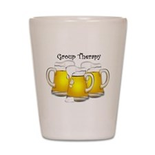 Beer Therapy Shot Glass