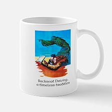 Backseat Driving..a timeless tradition Mug