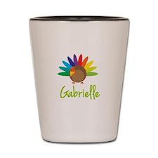 Gabrielle the Turkey Shot Glass