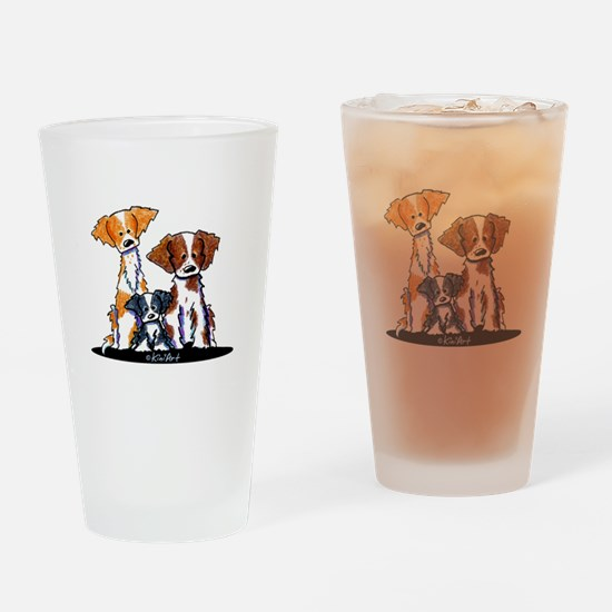 Brittany Trio Drinking Glass