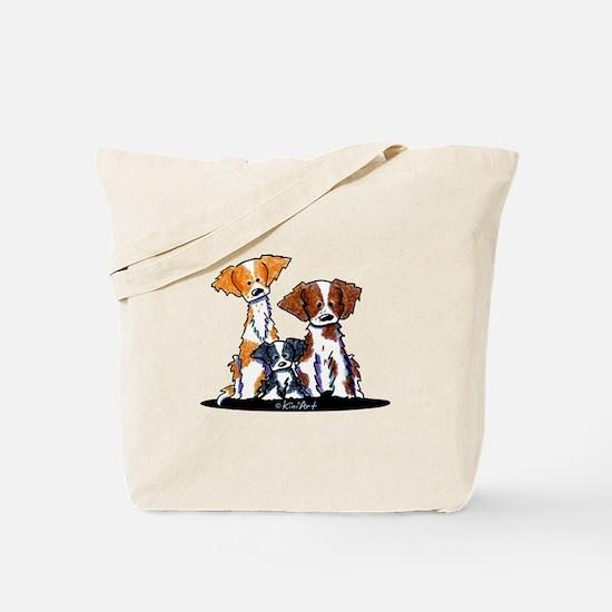 Brittany Trio Tote Bag