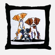 Brittany Trio Throw Pillow
