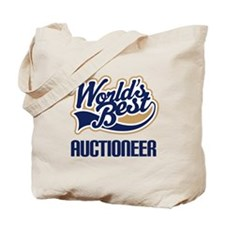 Auctioneer Gift (Worlds Best) Tote Bag